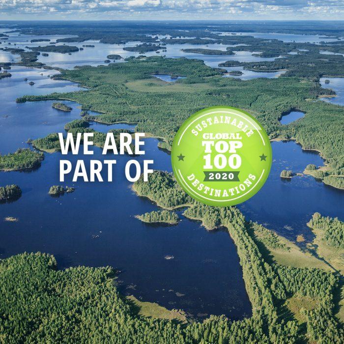 Insjöskärgård och nationalpark