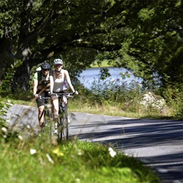 Fahrradweg Fjordrundan - 32 km
